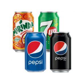 Pepsi cola, Mirinda 0,33l Plech