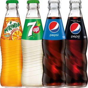 Pepsi cola 0,25l Sklo