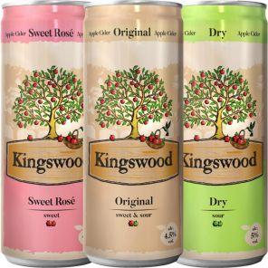 Kingswood cider 0,33l 4,5% Plech