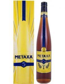 Metaxa 5* 3l 38% v kartonku