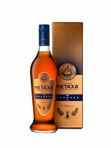 Metaxa 7* 1l 40% v kartonku