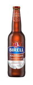 Birell polotmavý 0,5l Sklo