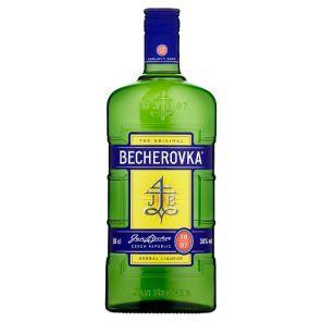 Becherovka 0,5l 38% 2x porcelánek
