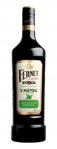 Fernet stock Máta 1l 30%